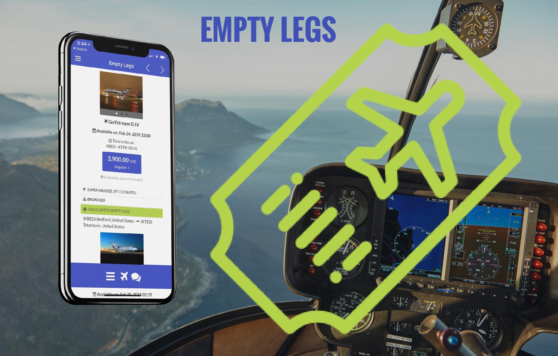 uberjets empty legs