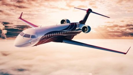 private jet stock photo alt