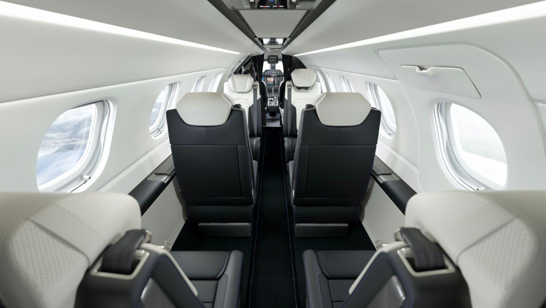 Porsche and Embraer Jet Jet Angle