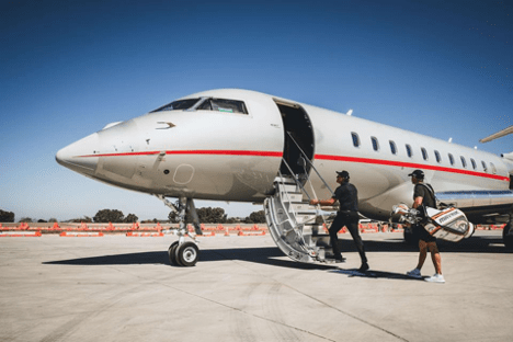 Flying Private to the PGA Tour Championship