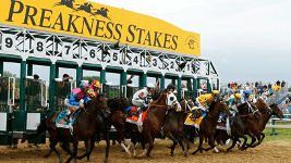 Charter a Flight to the Preakness Stakes